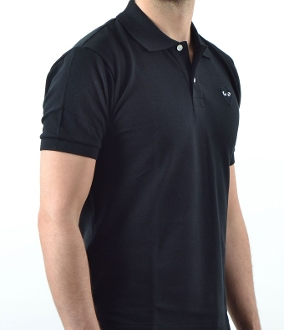 8hr Incident Command Black Polo (8hr IC ONLY, s-5xl)